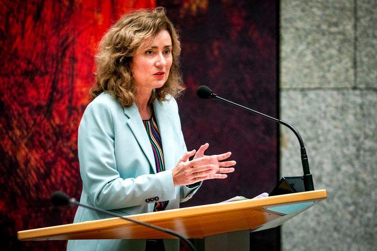 Vera Bergkamp van D66 Beeld ANP