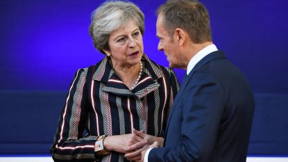 """May: """"Brexitdeal voor 95 procent rond"""""""