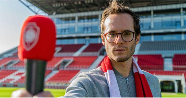Vincent Fierens zal vanaf nu de nieuwe vaste stadionomroeper zijn van Royal Antwerp FC
