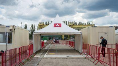 Zo zal het eerste Belgische testdorp voor Covid-19-tests op Spoor Oost werken: met activatiecode, registratie en na het maken van een afspraak