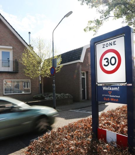 Hard rijden is ergernis nummer één in Oosterhoutse woonwijken