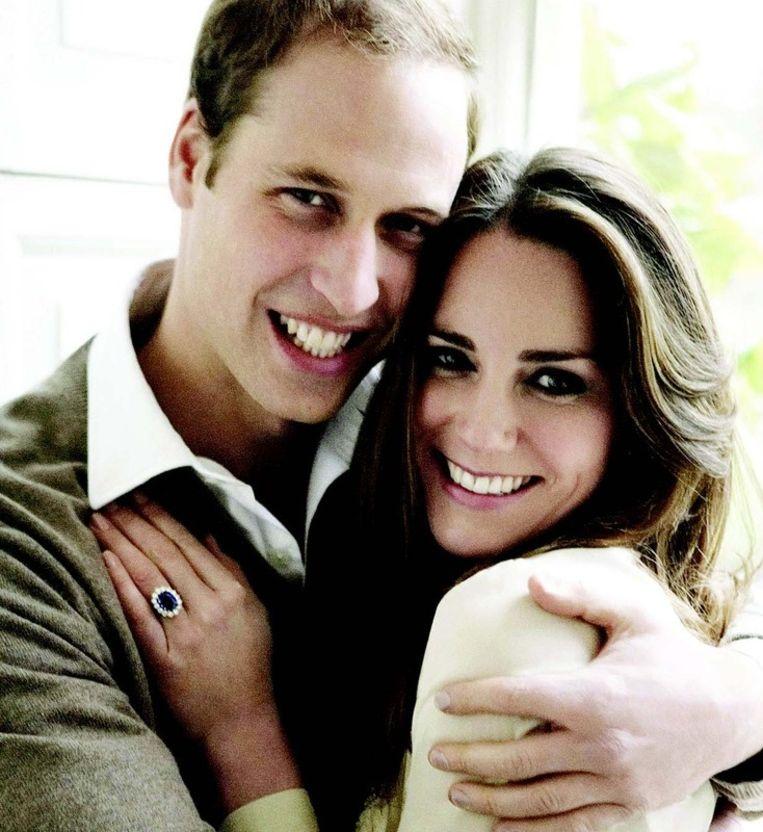 William en Kate, de killer combination van een relaxte prins en een bescheiden meisje. FOTO MARIO TESTINO, AFP. Beeld
