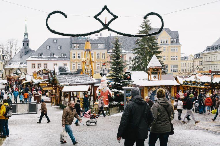Kerstfeest in Erzgebergte. Beeld Fabian Brennecke