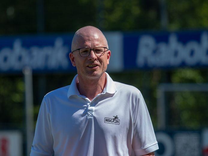 """HSC'21-trainer Daniël Nijhof: """"Elkaar weer zien en in beweging zijn, daar gaat het vooral om."""""""