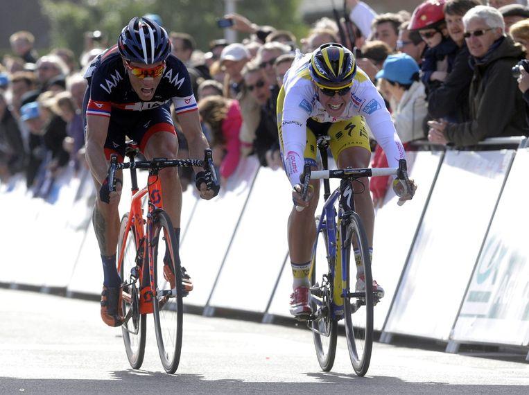 Sylvain Chavanel pikte in de Vierdaagse van Duinkerke een ritje en lijkt net op tijd in vorm voor de Baloise Belgium Tour.
