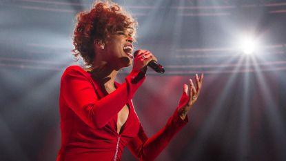 Glennis Grace in Lotto Arena met eerbetoon aan Whitney Houston