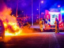 Auto uitgebrand in Eindhoven
