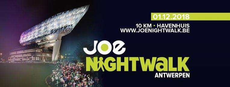 Wandelen wordt steeds populairder bewijst een uitverkochte Joe Night Walk