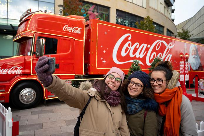 De wereldberoemde kersttruck is te bewonderen tijdens de 'Grootste Kerstmarkt van het Oosten'.