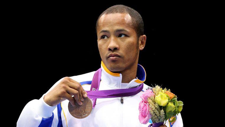 Bronzen medaillewinnaar Munkh-Erdene Uranchimeg krijgt maandelijks 1.100 euro extra.