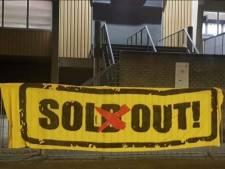 'Sol(d) out!': NAC-aanhang strooit zout in Willem II-wond in aanloop naar derby