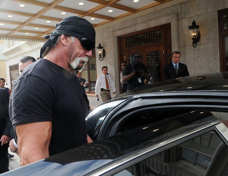 Terry Bollea, beter bekend als Hulk Hogan. Beeld afp