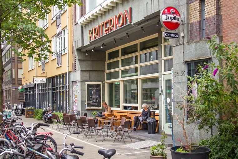 Wolkers frequenteerde de nachtvoorstellingen van de Filmliga in studentenfilmhuis Kriterion in Amsterdam. Beeld Sander Groen