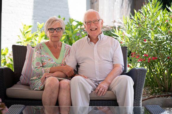 Angèle en Raymond Ceulemans vieren hun 60ste huwelijksverjaardag in Berlaar.