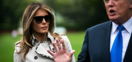 Amerika heeft er een bizarre complottheorie bij over dubbelganger Melania Trump