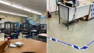 Douchegordijnen en politielinten in het klaslokaal: dit is hoe scholen in de VS hun deuren willen openen