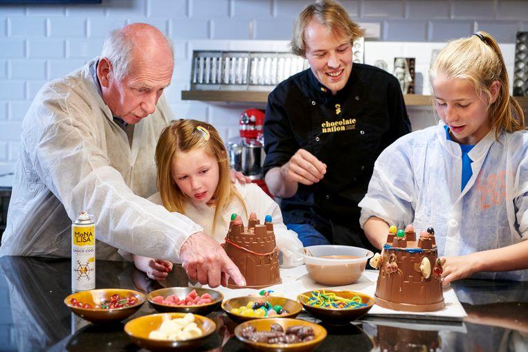 Grootouders kunnen deze zomer met hun kleinkinderen aan de slag in de ateliers van Chocolate Nation