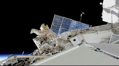 VIDEO. Kosmonauten inspecteren mysterieus lek aan boord ISS