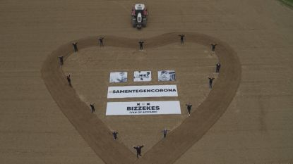 #SAMENTEGENCORONA. Drone filmt warme boodschappen van inwoners Gooik