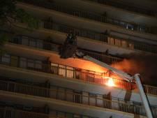 Drie gewonden bij brand in flat Zoetermeer