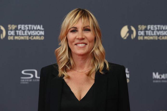 Mathilde Seigner, au festival de Monte-Carlo, le 14 juin 2019.