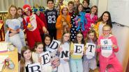 Leerlingen Middenschool massaal in pyjama naar les voor Bednet