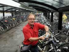 Tijdelijk 72 fietsenstallingen extra bij station in Elst