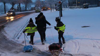 Opnieuw sneeuw in het land: oppassen voor gladde wegen, code geel tot zeker 14 uur vanmiddag