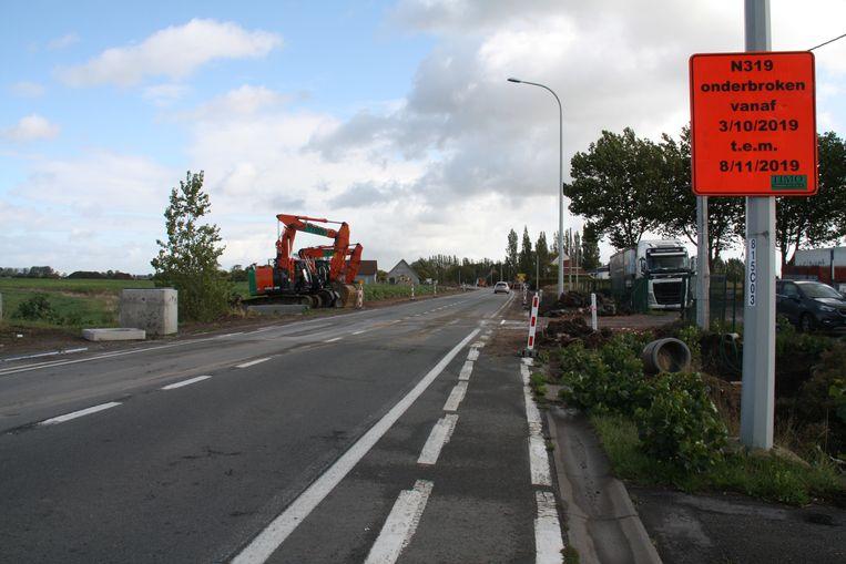 Sint-Rijkersstraat gaat een maand volledig dicht