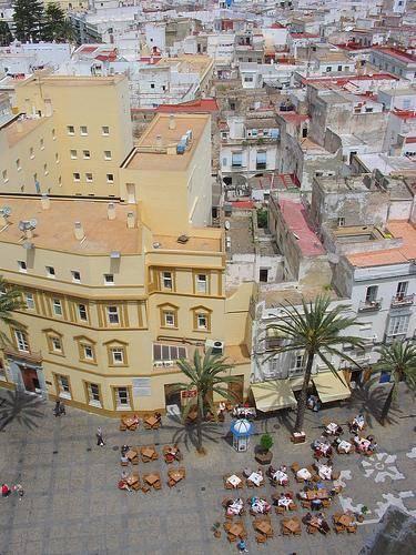 De stad Cadiz.