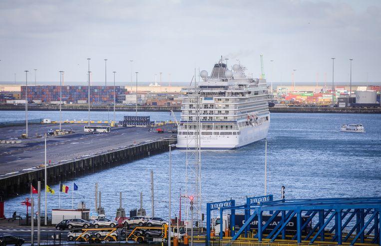 De feiten vonden plaats in de haven van Zeebrugge.