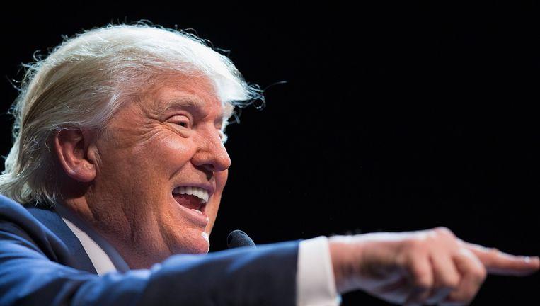Trump moet in de resterende voorverkiezingen 58 procent van de stemmen winnen om de nominatie in de wacht te slepen. Beeld ANP