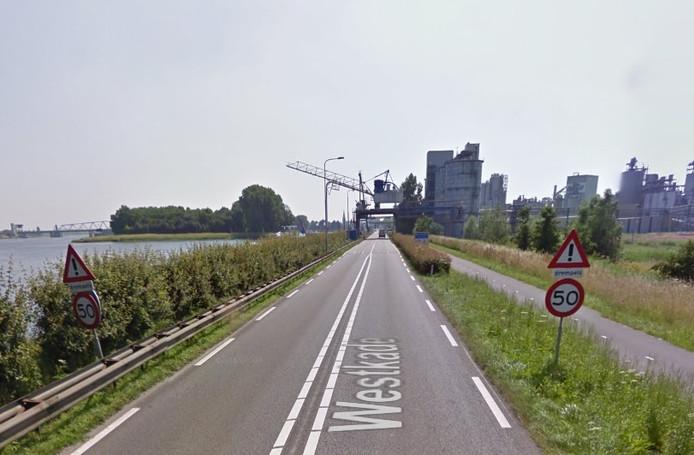 Westkade bij Sas van Gent