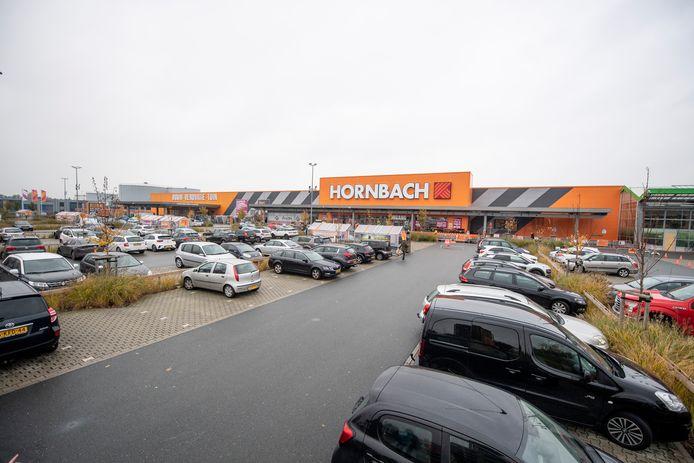 Hornbach in Zwolle.