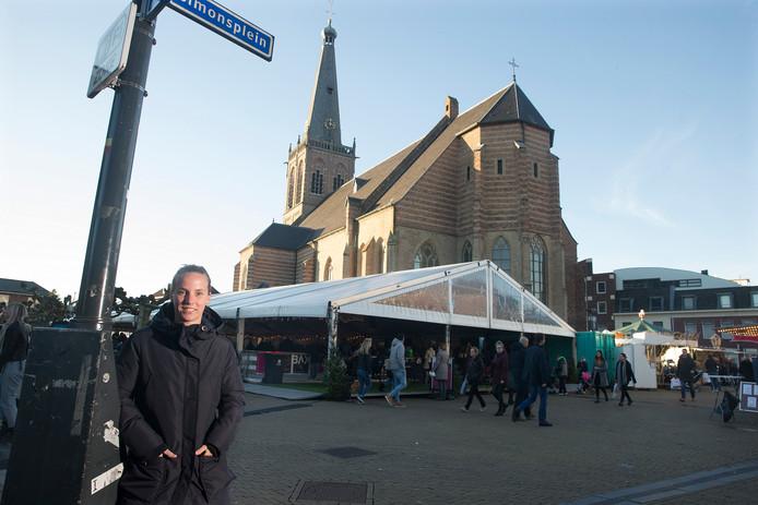 Richel Hogenkamp in centrum Doetinchem.