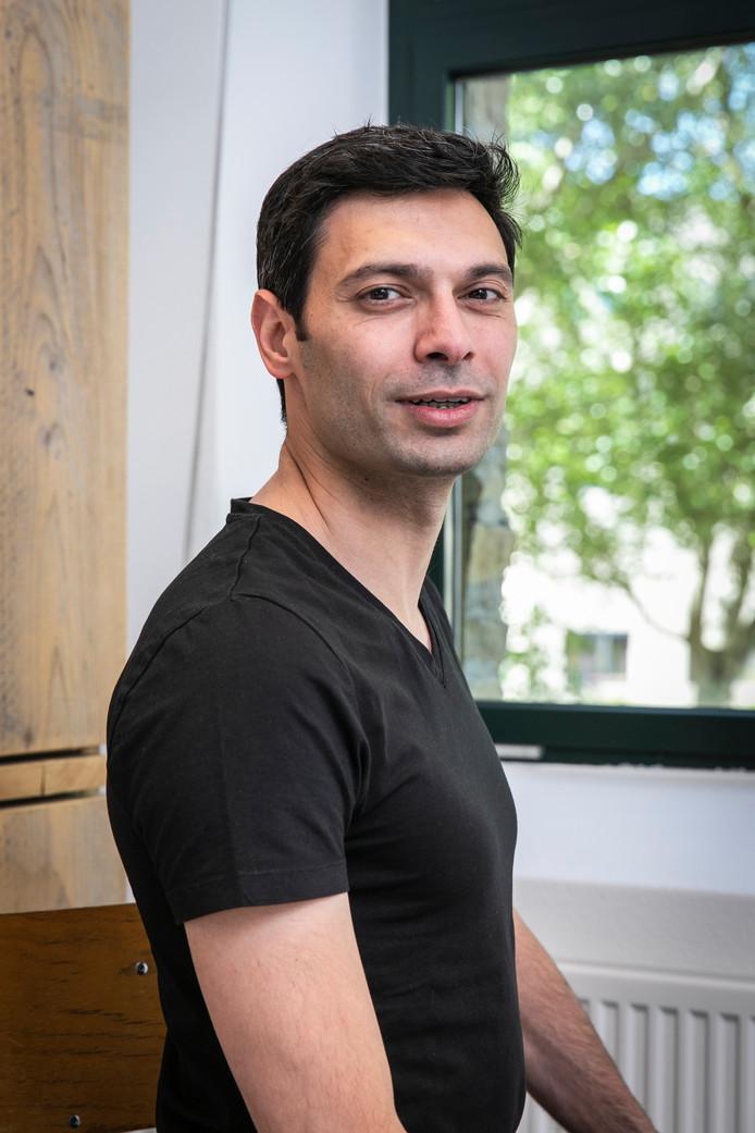 Amsterdam, 15 mei 2019 - ALI NIKNAM. Ali Niknam is de oprichter van Bunq. Foto Dingena Mol