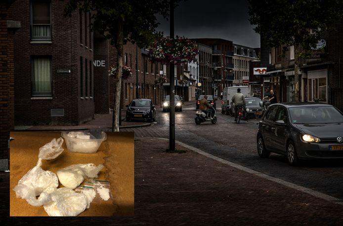 Het onderzoek rond de drugsproblematiek concentreert zich in Helmond rond de Heistraat. Inzet: in beslag genomen speed.