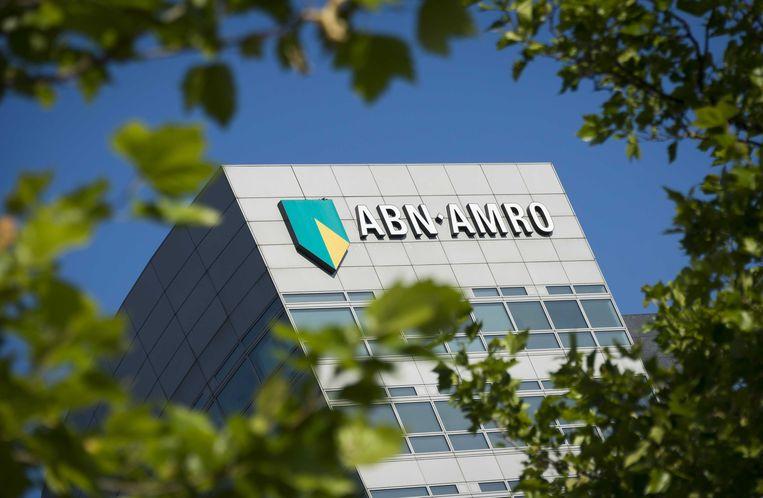 Het hoofdkantoor van ABN Amro op de Zuidas in Amsterdam. Beeld anp