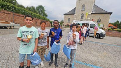 Leerlingen 't Lessenaartje winnen Europawedstrijd en krijgen ijsje cadeau
