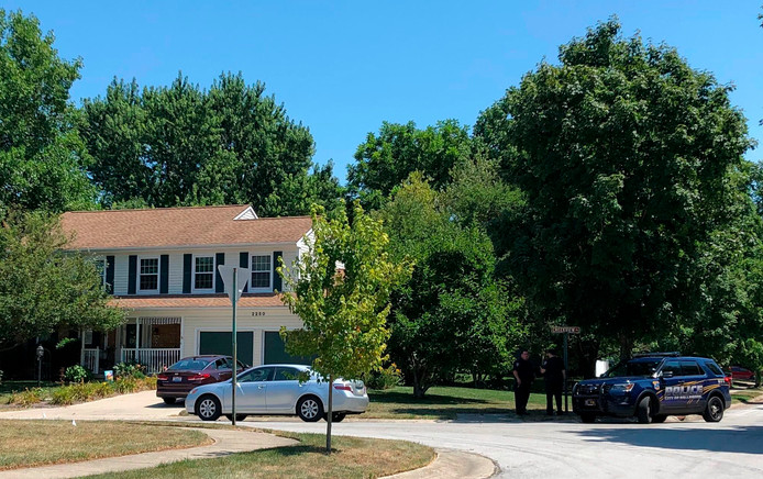 Het huis waar Connor Betts woonde, wordt door de politie doorzocht.