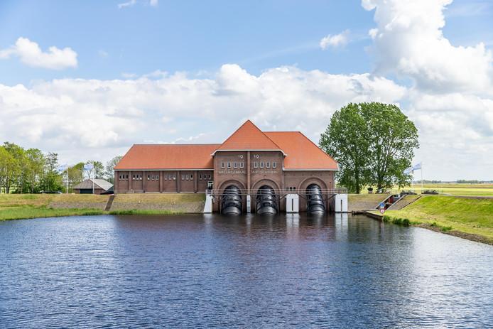 Gemaal Stroink bij Vollenhove bestaat 100 jaar. Foto: Pedro Sluiter