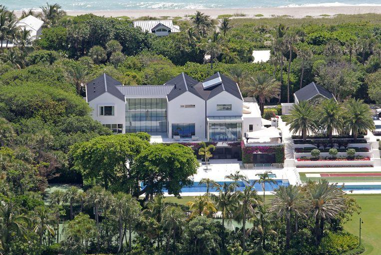 De villa van Tiger Woods in Jupiter Island (Florida). Kostprijs: 80 miljoen dollar.