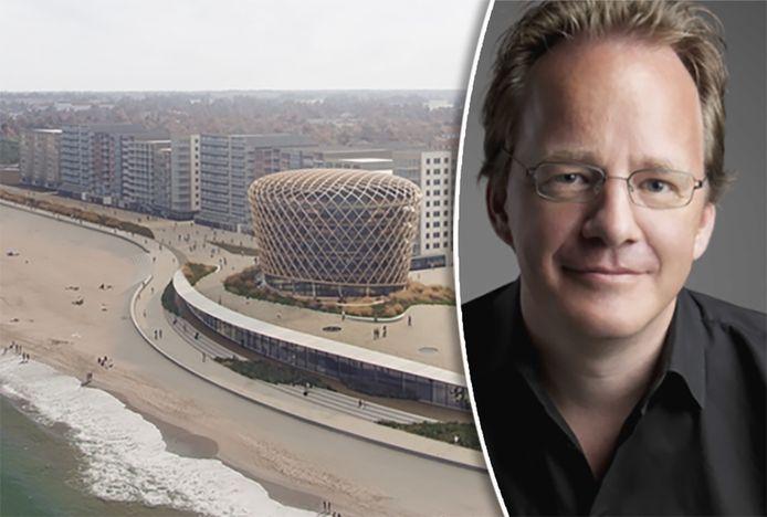 """Architect Reinald Top over zijn creatie: """"Zodra de mensen het omarmen, zal ik gelukkig zijn, en is mijn doel bereikt""""."""