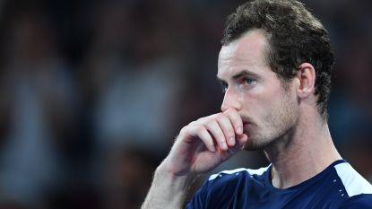 Andy Murray zegt definitief af voor ATP-toernooi in Marseille