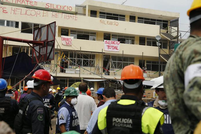 Reddingswerkers zochten massaal naar de zogenaamde Frida Sofia.