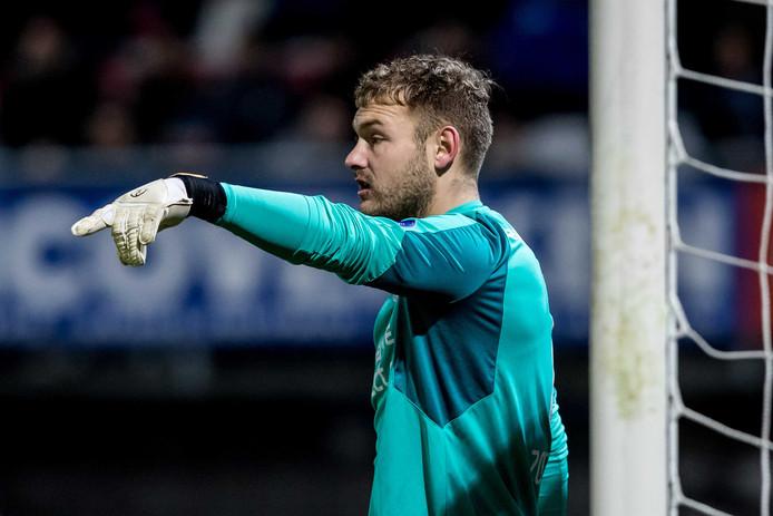 Jeroen Zoet redde PSV in de tweede helft tegen Sparta, waar de Eindhovenaren met  1-2 wonnen.
