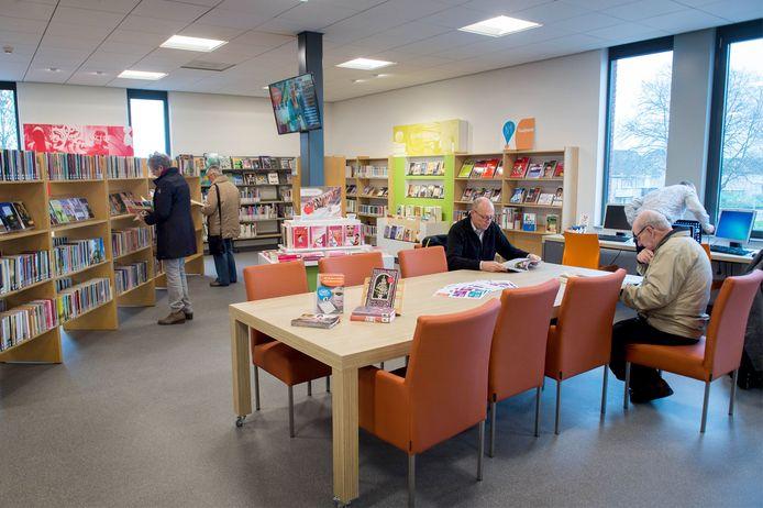De bibliotheek van Beneden-Leeuwen.