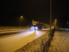 Brabant bedekt door laagje sneeuw