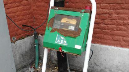Neen, dit AED-toestel doet het niet meer