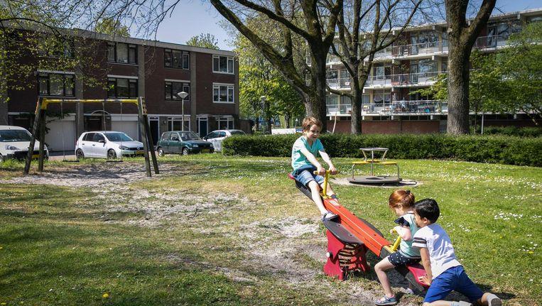 Zaterdag meldde deze krant dat er een petitie is gestart tegen woningsplitsing in de wijken Amerbos en Elpermeer in Amsterdam-Noord. Beeld Dingena Mol